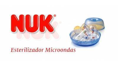 El esterilizador de microondas NUK