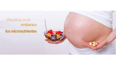 Vitaminas en el embarazo