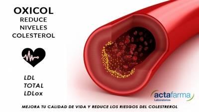 Oxicol complemento revolucionario que reduce los niveles de colesterol