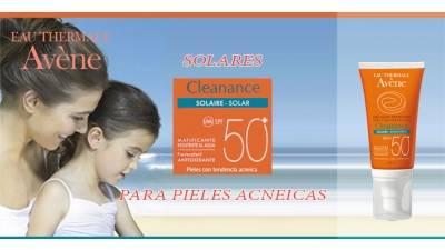 Cleanance solar SPF 50+ para pieles sensibles de Avène