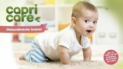 Capricare leche de cabra para bebé. ¿Que tiene de especial?