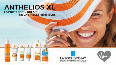Anthelios XL. Proteccion solar para pieles sensibles.