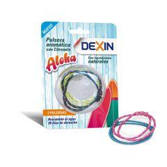 dexin pulsera citronela antimosquitos pack 2 resistente al agua
