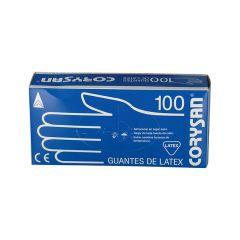 Guantes Latex Corysan 100 unidades Talla S