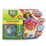 Relec pulsera click-clack super girl