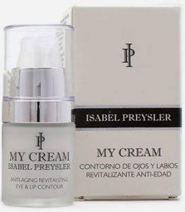 My cream Isabel Presyler contorno de ojos y labios